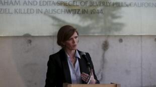 Đại sứ Mỹ tại Liên Hiệp Quốc, bà Samantha Power.