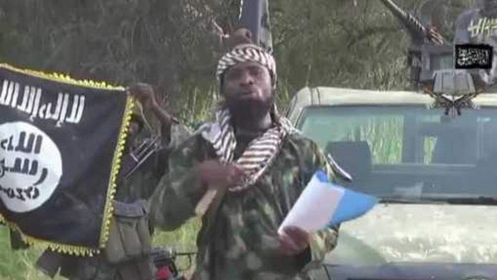 Abubakar Shekau, kiongozi wa Boko Haram (kwenye mkanda wa video).