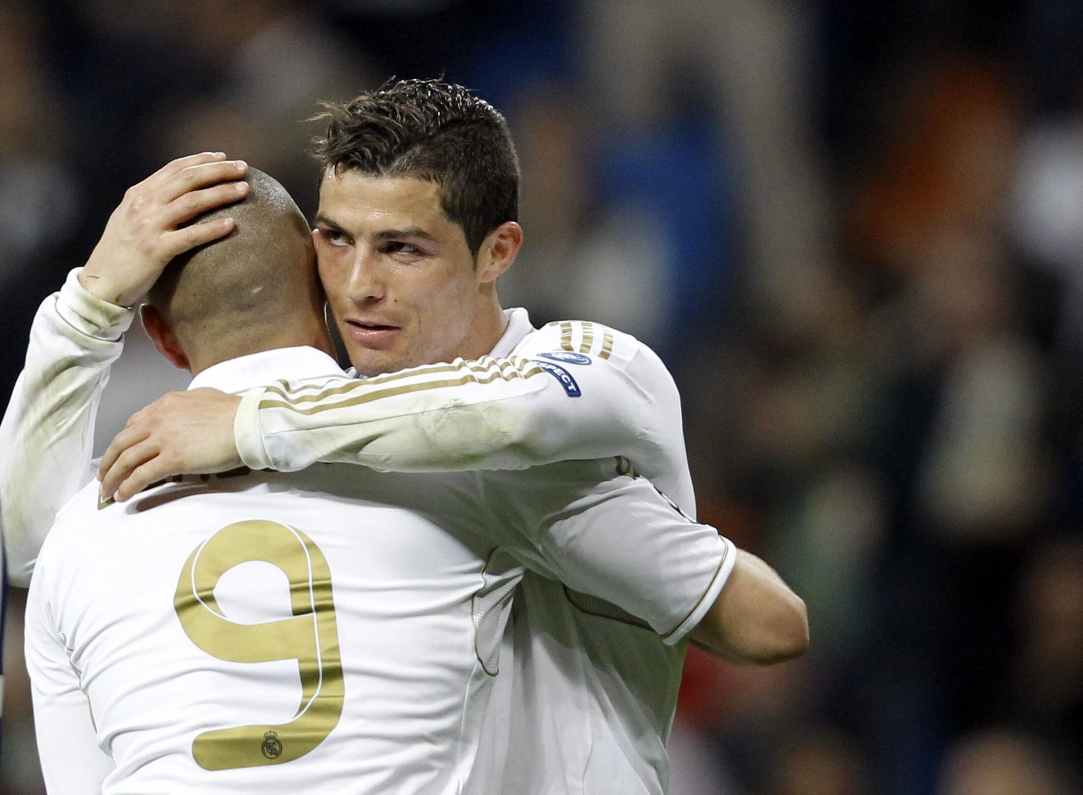 O atacante português marcou dosi gols da goleada de 4 a 1 do Real Madri sobre o CSKA Moscou, nesta quinta-feira, 14 de março de 2012.