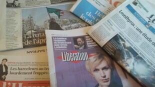 Primeiras páginas dos jornais franceses 04 de abril de 2019