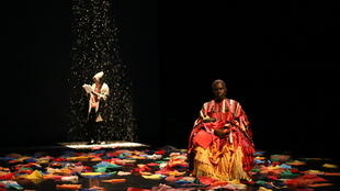 Dance and words and music combine in Moïse Touré's 2147, If Africa Disappeared, at the Tarmac, Paris January 2019