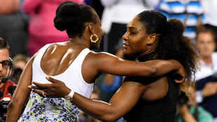 Venus Williams da Serena Williams.