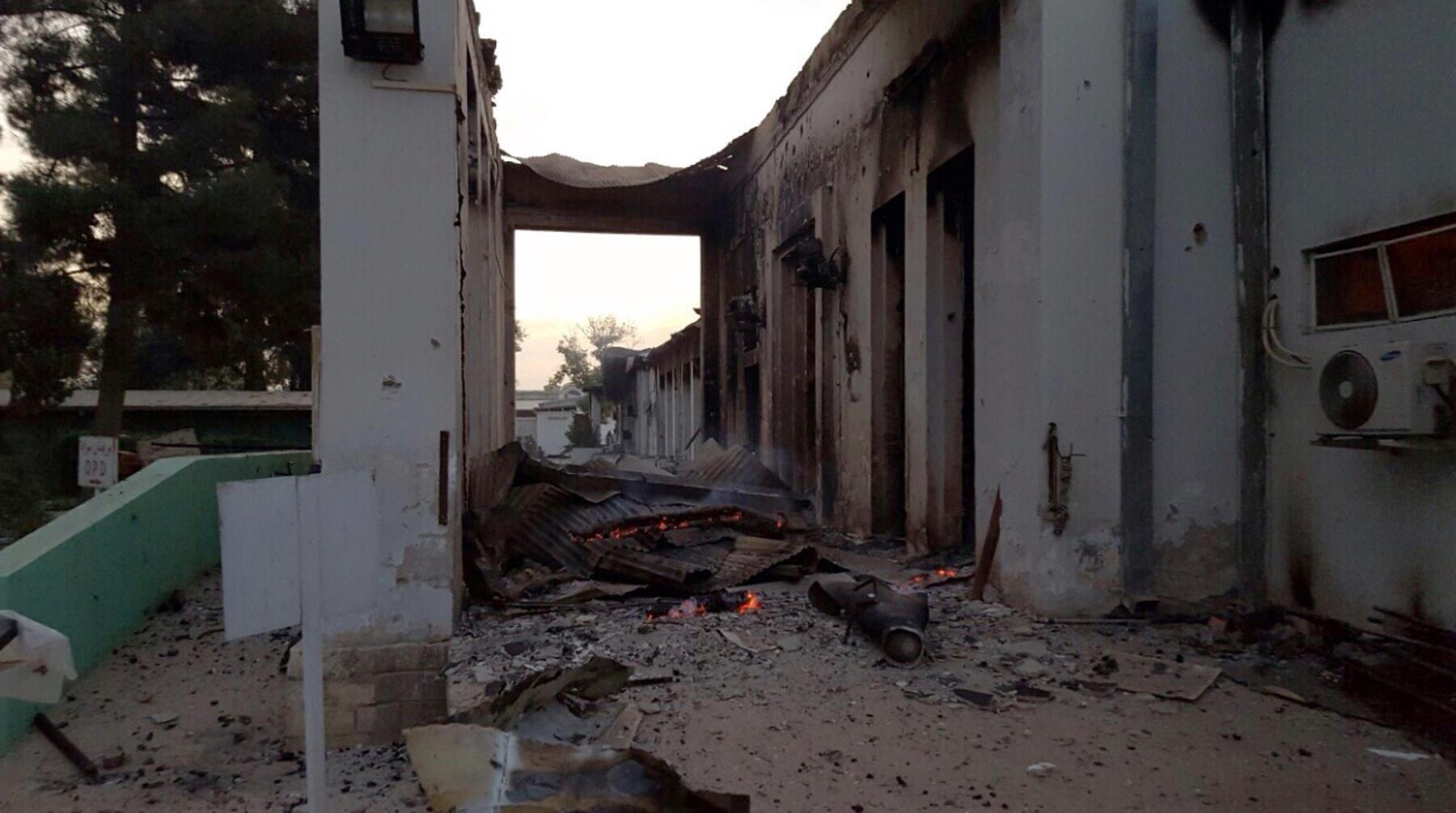 Lúc bị ném bom, tại bệnh viện ở Kunduz có 105 bệnh nhân và 80 nhân viên MSF.