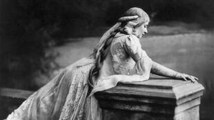 Mary Garden (1874-1967) en el papel de Mélisande.