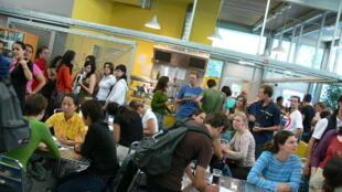 Les étudiants étrangers en France.