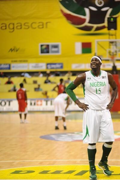 Le Nigérian Olumide Oyedeji affrontera les Centrafricains en quarts de finale de l'Afrobasket 2011.