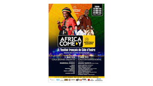 Affiche «Africa Comedy».