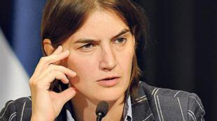 Ana Brnabic, nova primeira-ministra da Sérvia