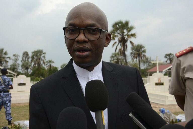 Alain-Aimé Nyamitwe, ici le 19 janvier 2017, a été débarqué de son poste de chef de la diplomatie burundaise.
