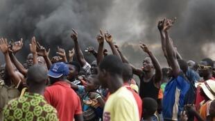 Manifestation au Burkina Faso (image d'illustration).