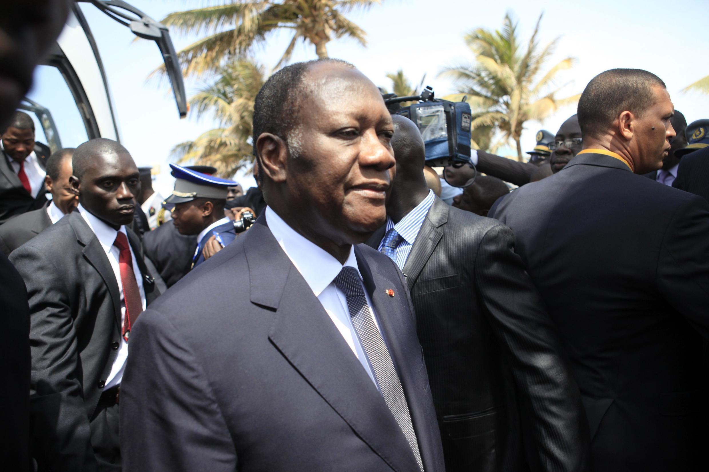 Alassane Ouattara, presidente da Costa do Marfim