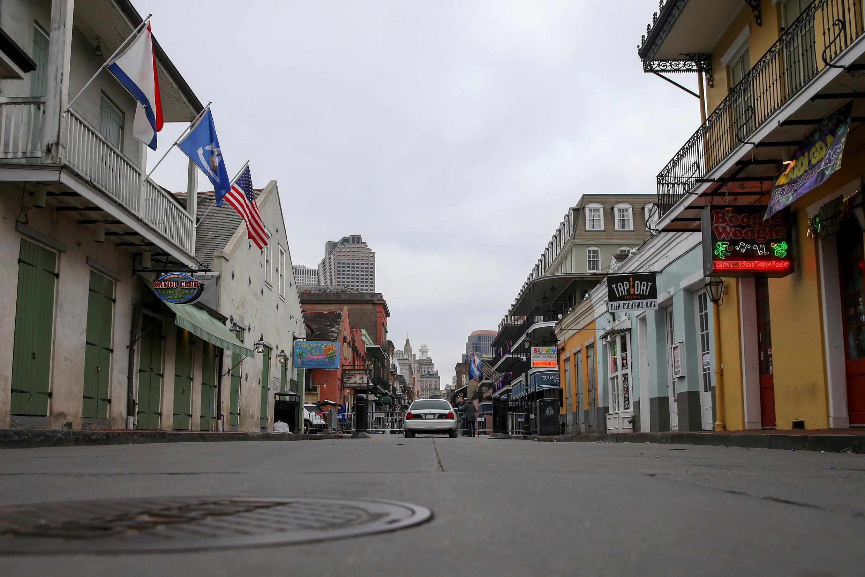 États-Unis - Nouvelle Orléans - Covid-19 - 2021-02-16T162730Z_1547003544_RC2STL9LPE2K_RTRMADP_3_USA-MARDIGRAS