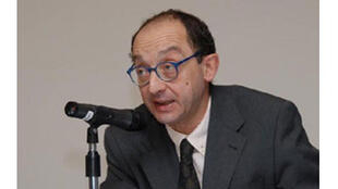 Hugo Sada (OIF), ancien délégué à la démocratie et aux droits de l'homme, chargé des questions électorales à l'OIF.