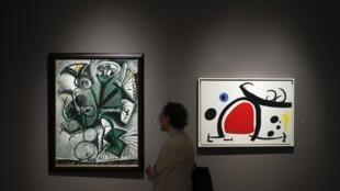 Работы Пабло Пикассо в Нью-Йорке, 2 мая 2014 года