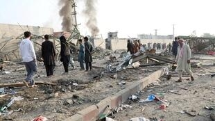 阿富汗首都喀布尔发生炸弹攻击至少16平民死亡2019年9月3日