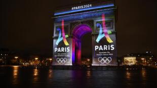 Эмблема парижской олимпиады 2024