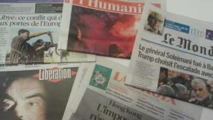 Primeiras páginas dos jornais franceses 05 de dezembro de 2020