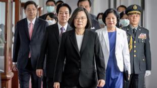 Tổng thống Đài Loan Thái Anh Văn, tại Đài Bắc ngày 20/05/2020.