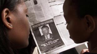 Waranti wa kukamatwa Félicien Kabuga ilichapishwa katika magazeti ya Kenya mwaka 2002.