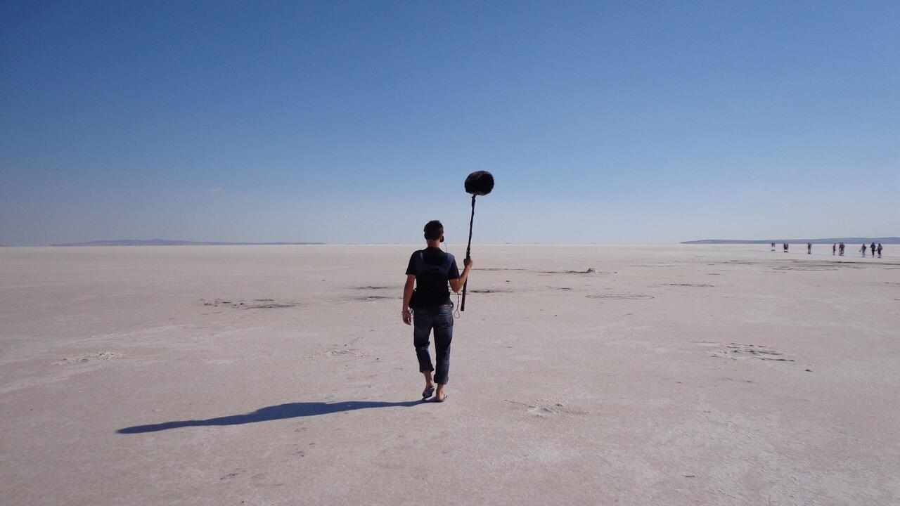 Anatolie - Félix Blume - ingénieur du son et artiste sonore - micro - IMAGE DE UNE Anatolie - Salt Lake - Si loin si proche