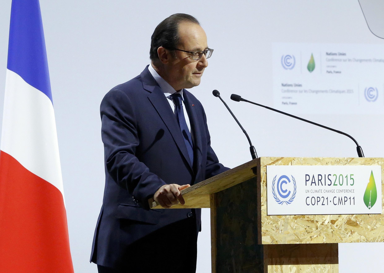 Франсуа Олланд 30 ноября 2015