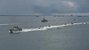 اندونزی، مالزی و فیلیپین گشت های دریائی مشترک خود را آغاز کردند.