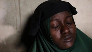 'My anguish is crushing me,' Humaira Mustapha told AFP