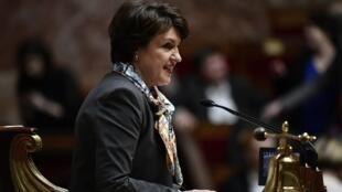 Annie Genevard à l'Assemblée nationale, le 7 mars 2018.