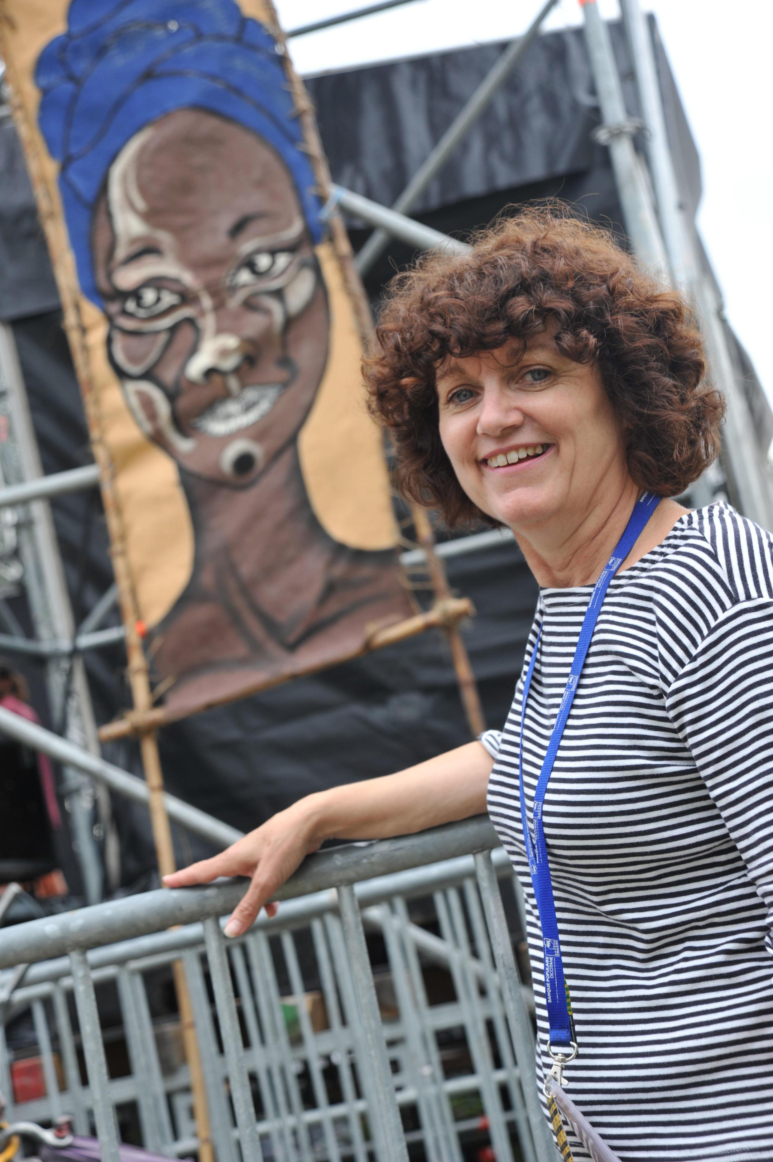 Régine Lacan, directrice artistique du festival Africajarc.