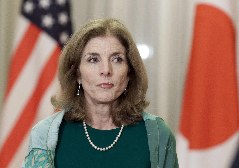 L'ambassadrice des Etats-Unis au Japon Caroline Kennedy, le 17 mars 2015 à Tokyo.