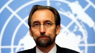 លោក Zeid Ra'ad Al Hussein ឧត្តមស្នងការអង្គការសហប្រជាជាតិទទួលបន្ទុកសិទ្ធិមនុស្ស