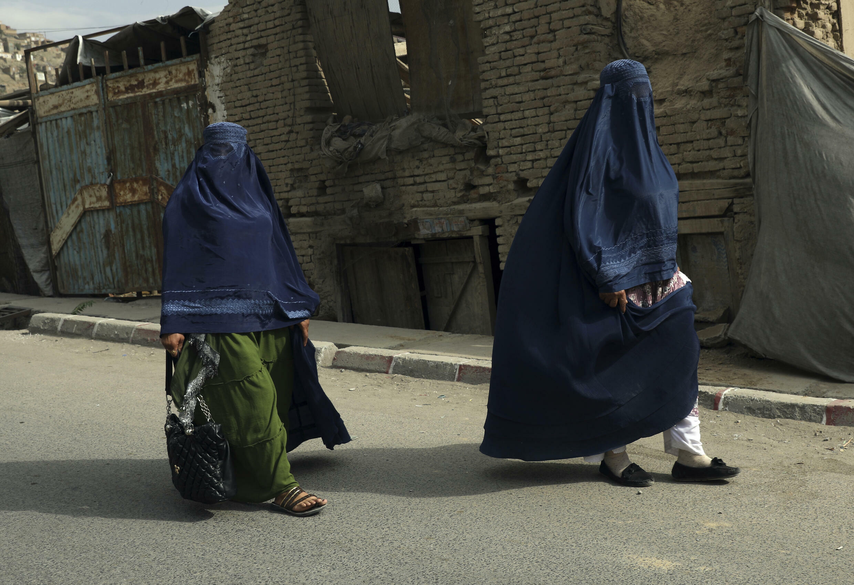 Afghanistan - Kaboul - Femmes - AP21234453720650