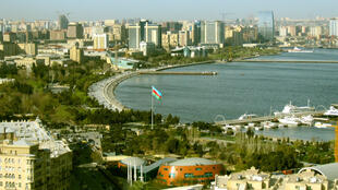 Bakou, la capitale de l'Azerbaïdjan.
