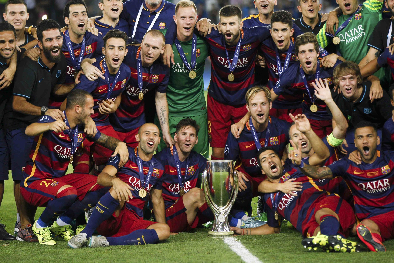 Barcelona ta doke Sevilla a fafatawar da suka yi a Super Cup a  Dinamo Arena da ke Tbilisi a Georgia