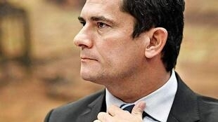 """Sérgio Moro, ministro brasileiro da justiça, é directamente visado pelas revelações do site informativo """"The Intercept""""."""