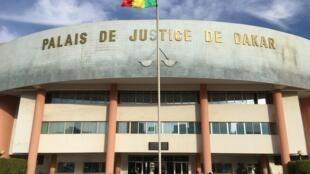 Le palais de justice de Dakar, au Sénégal.