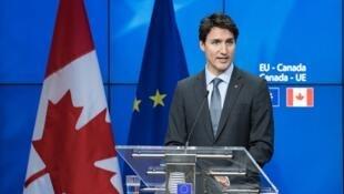 Waziri Mkuu wa Canada  Justin Trudeau.