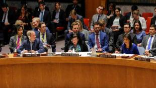 Le Conseil de sécurité des Nations unies, en avril 2018.