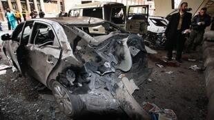 Wani Harin Bom da aka kai a birnin Damascus na kasar Syria