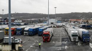 France - Port de Cherbourg - Ferries France Irlande