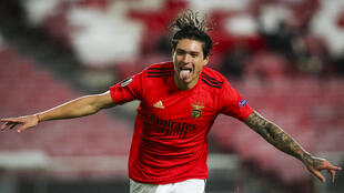 Darwin Núñez - SL Benfica - Liga Europa - Futebol - Desporto - Football