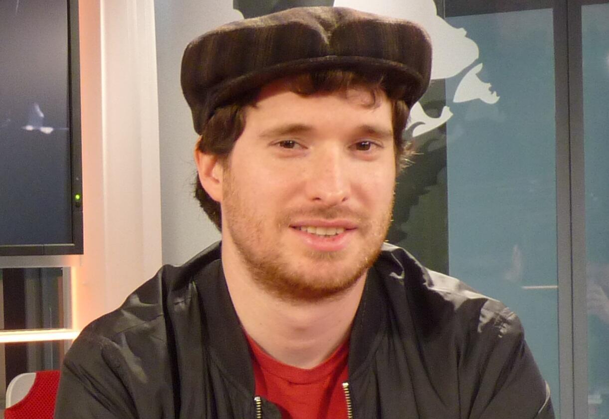 Pablo Murgier en los estudios de RFI