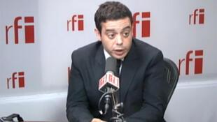 Razzy Hammadi , député de Seine-Saint-Denis, secrétaire national du PS aux services publics.