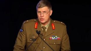 澳大利亞特種作戰部前指揮官芬德利少將資料圖片