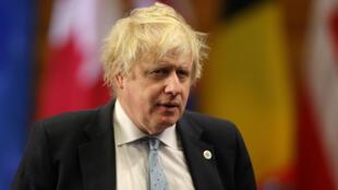 بوریس جانسون وزیر امور خارجه بریتانیا