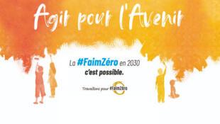 Le thème de la Journée mondiale de l'Alimentation cette année est : « Agir pour l'avenir »