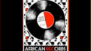 L'affiche d'«African Records» à la fondation Zinsou, à Cotonou, au Bénin. L'exposition a lieu de janvier à mai 2015.