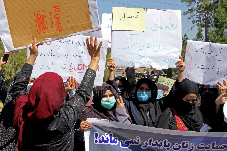 Afghanistan femme talibans