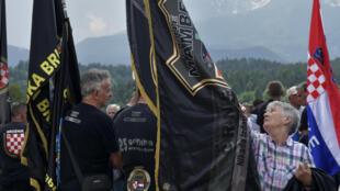 Cette année, l'Autriche a veillé à l'interdiction de tout symbole nazi.