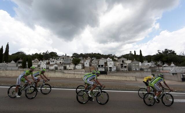 Утренняя тренировка в Порто-Веккьо, 29 июня 2013 года
